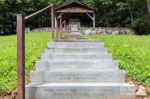 Masonic Shrine on the Blue Ridge Parkway